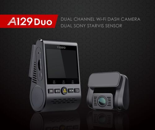 Viofo A129 DUO Dual Channel 1080p Dash Camera with Dual Band