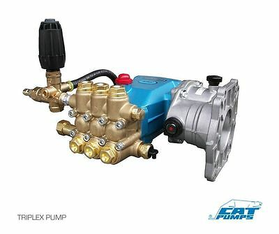 Pressure Washer Pump - Plumbed - Cat 5cp3120 - 4.5 Gpm - 3500 Psi - 8076 Reducer