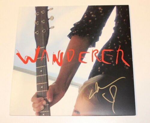 CAT POWER CHAN MARSHALL SIGNED 'WANDERER' VINYL ALBUM RECORD LP w/COA EXCLUSIVE