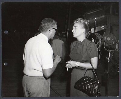 JOAN CRAWFORD behind the scenes THE BEST OF EVERYTHING 1959 Vintage Orig (Joan Crawford The Best Of Everything)