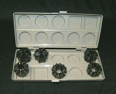 Jacobs 500 Series 6 Pc. Rubber Collet Set W Case