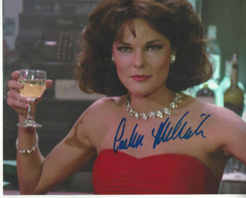 Law & order  Carolyn McCormick autographed 8x10  photo