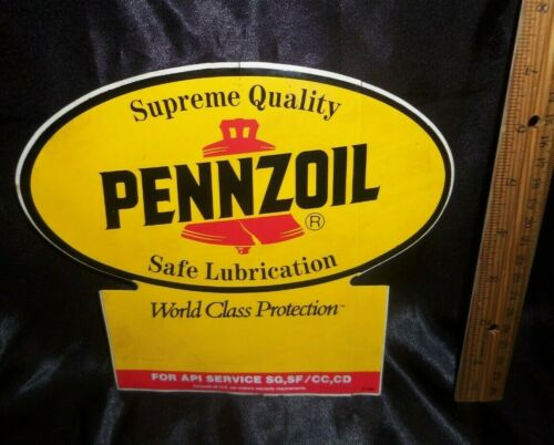 """Vintage Pennzoil Sticker 7""""x8"""""""