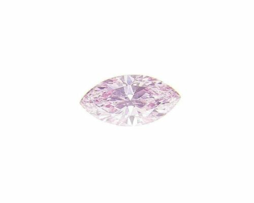Fancy Intense Purplish Pink Natural Loose Diamond 0.05 Cts Marquise Color GIA