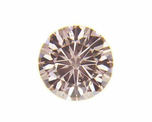 Fancy Intense Pink Natural Loose Diamond 0.08 Cts Round GIA Cert