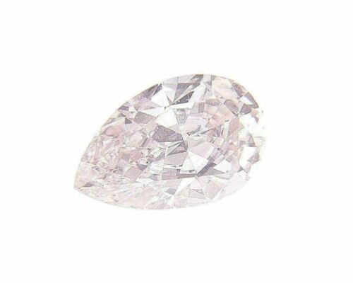 Fancy Light Pink Natural Loose Diamond 0.11 Cts Pear Color GIA Certified