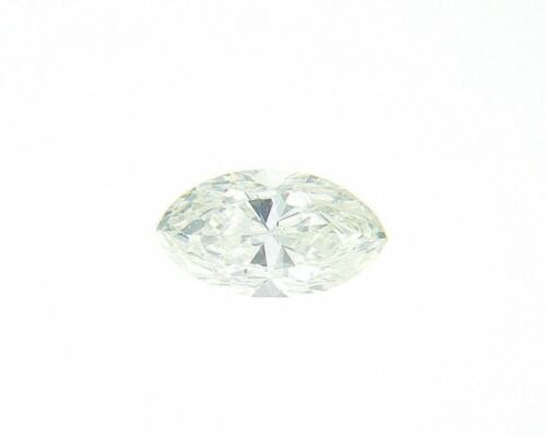 Very Light Yellow Green Natural Loose Diamond 0.15 Cts Marquise Color GIA