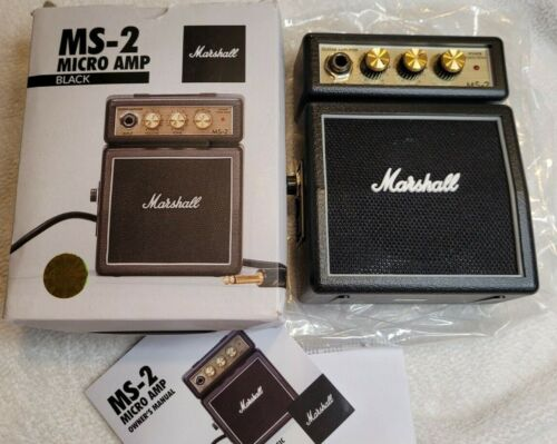 Marshall MS-2 Micro Amp, Black New in box amplifier MS 2