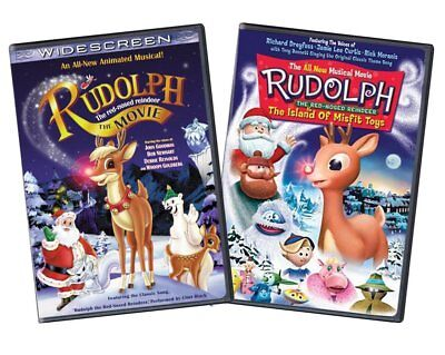 Rudolph Red-Nosed Reindeer Movie / The Island of - Rudolph The Red Nosed Reindeer Set