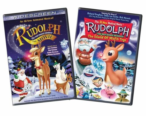 Rudolph The Red-nosed Reindeer / The Island Of Misfit Toys (two-pack) Dvd Set