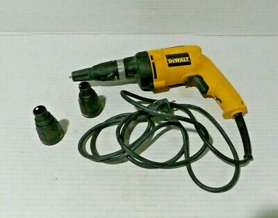 Dewalt Dw 260 Drywall Screw Gun In Case. Tested Works