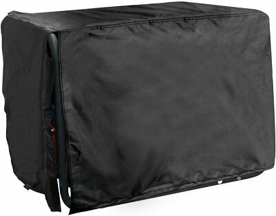 All Weather Protected Durable Black Generator Cover Medium 24lx 22w X 20h