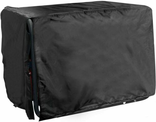 "All Weather Protected Durable Black Generator Cover Medium 24""Lx 22""W x 20""H"