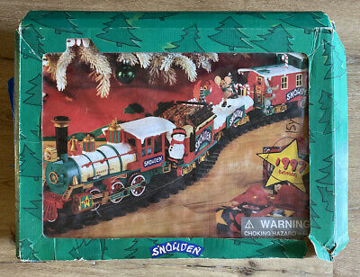 Snowden's Train Set 1997 - Complete Set - Batteries Included - Christmas Holiday
