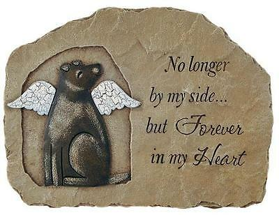 DOG MEMORIAL Plaque, Marker or Stepping Stone by Carson Home Accents