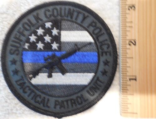 SUFFOLK COUNTY NEW YORK TACTICAL PATROL UNIT PATCH (HIGHWAY PATROL, SHERIFF)