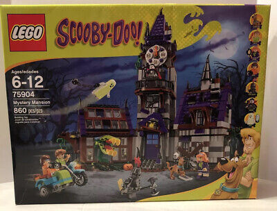 Lego SCOOBY-DOO Mystery Mansion 75904 Retired New In Box