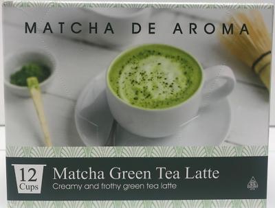 matcha green tea latte single serve k