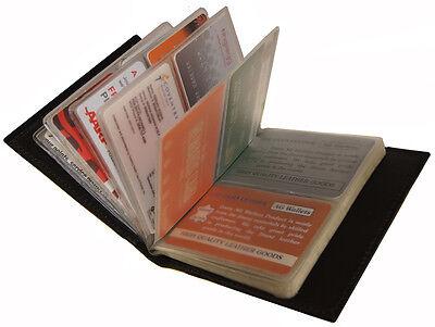Genuine Cowhide Leather 40 Credit/Business Card Holder Amazing Wonder ful Wallet