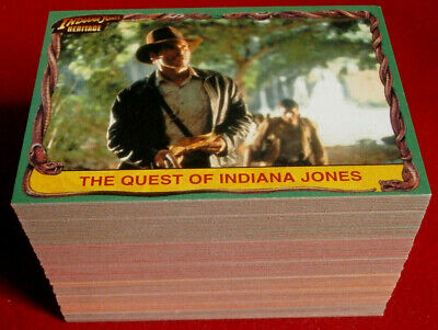 INDIANA JONES - HERITAGE - Complete Base Set 90 cards - Topps 2008 Harrison Ford