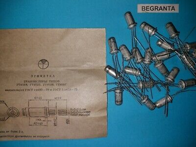10x Gt402v Germanium Transistor Low Frequency Amplifier