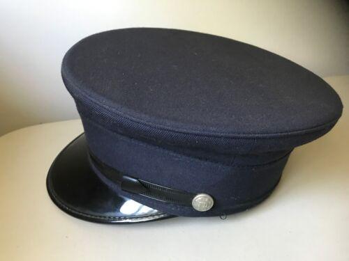 Vintage Fire Department Fireman Dress Hat - by Sentry Navy Blue