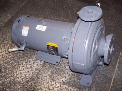 FLOWSERVE 2X1-10 DI CENTRIFUGAL PUMP 5 HP 208-230/460 VAC 1750 RPM D800