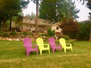Sunny Shuswap Lake House - Weekly Rental
