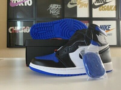 Nike Air Jordan 1 Retro High OG Game Royal Toe 555088-041 Size 9 IN HAND NOW