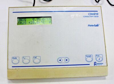 Radiometer Cdm210 Conductivity Meter W Power Supply