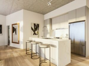 Old Port Montreal- New condo for rent- 2 bedrooms-Ville-Marie