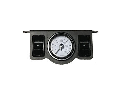 Dual Needle - Air Ride Suspension Dual Needle Air Gauge Panel 150psi 2 Paddle Switches Control
