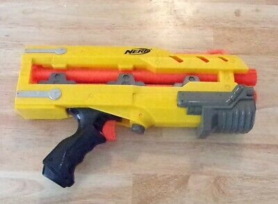 Nerf Gun N-Strike Longshot CS-6  Yellow Front Barrel Extension