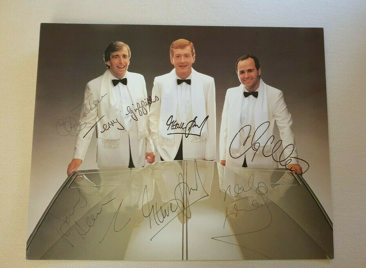 STEVE DAVIS NEAL FOULDS CLIFF THORBURN BARRY HEARN Signed Matchroom 10x8 Photo