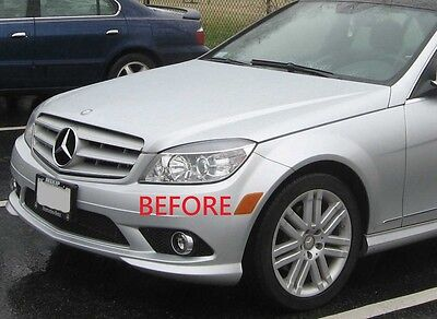 Mercedes C300 Fog Light Replacement W204 C Class Clear Fog