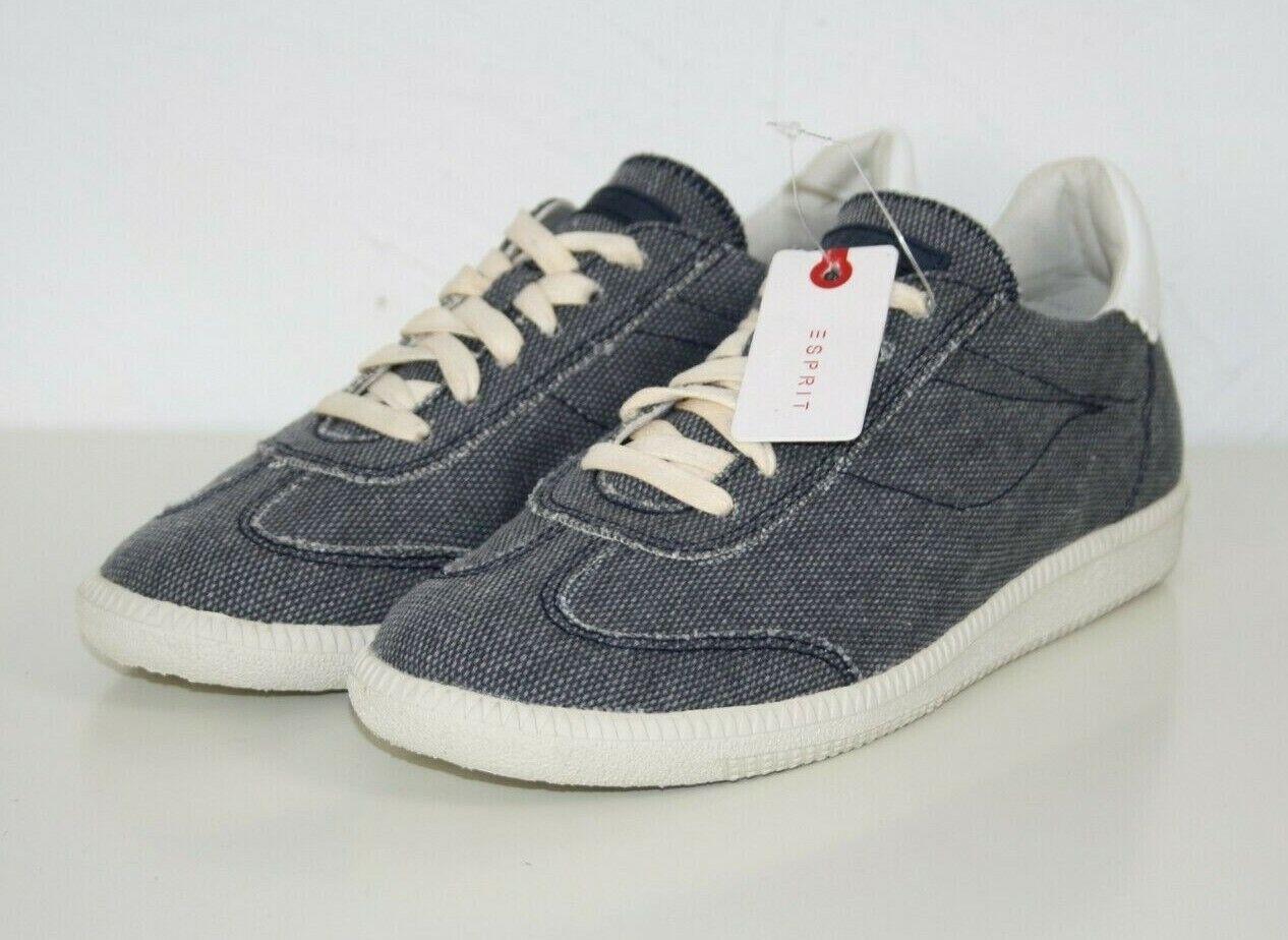 ESPRIT Damen Low-Top Sneaker Halbschuhe jeans blau NEU