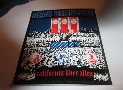 DEAD KENNEDYS STICKER NEW 2013  OOP RARE COLLECTIBLE