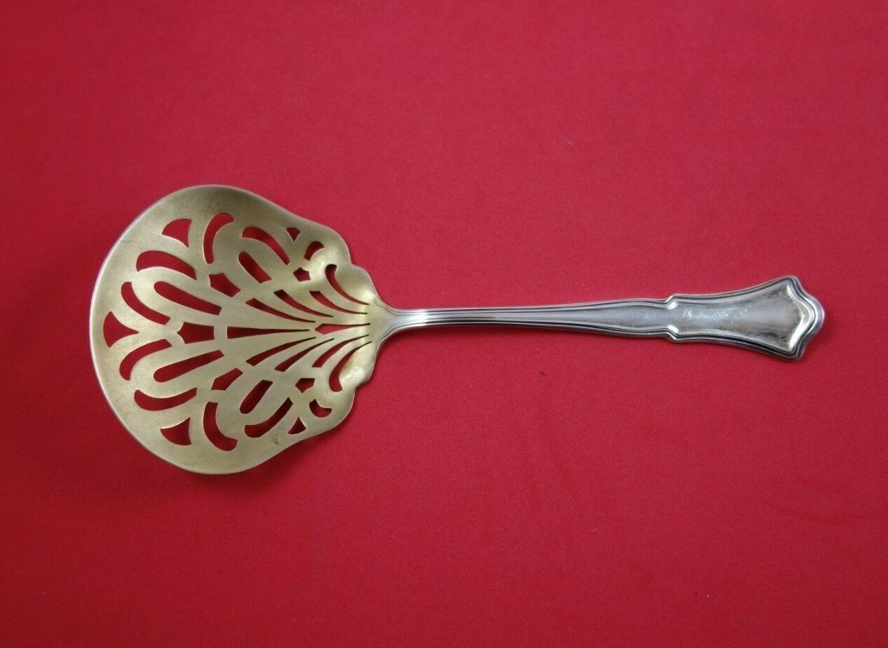 Old French By Gorham Sterling Silver Tomato Server Fancy Pierced 7 3//4/""