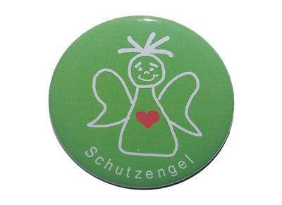 Schutzengel Engel Geschenk Ansteckbutton Button groß 50mm Pin Weihnachten