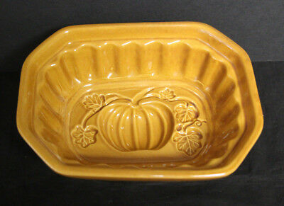 Crate & Barrel Ceramic Mold - Jello, Baking, Decoration - Fall Pumpkin Theme](Fall Themed Decorations)