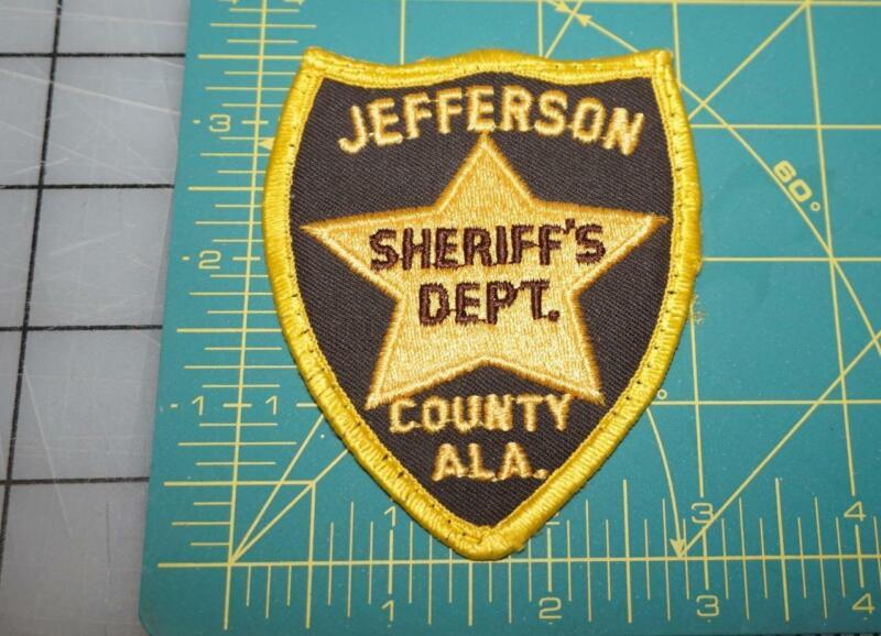 JEFFERSON COUNTY ALA SHERIFF DEPT. PATCH (494)