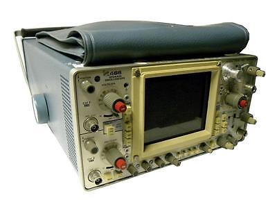 Tektronix Storage Oscilloscope W 2 Probes P6133 Model 466