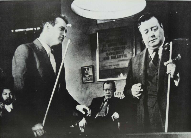 """Brand New Paul Newman Minnesota Fats Billiard Poster - 23"""" x 34"""" - FREE SHIPPING"""