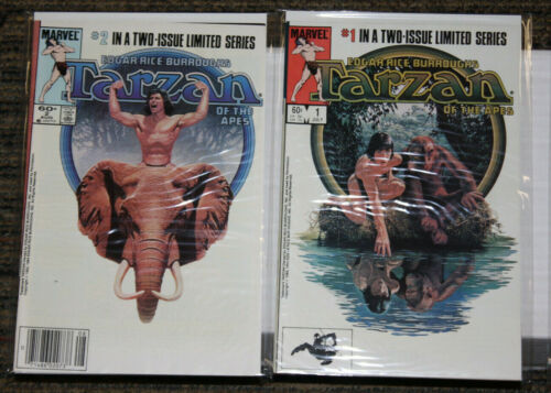 Marvel Tarzan of the Apes #1-2 - COMPLETE SET - Burroughs - Movie Adaptation
