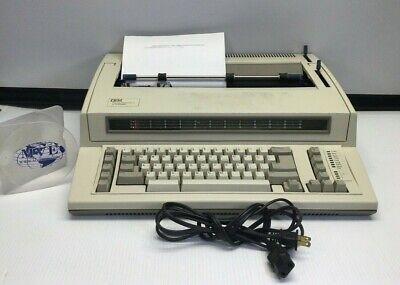 Vintage Ibm Lexmark 6781-025 Personal Wheelwriter 2 Typewriter