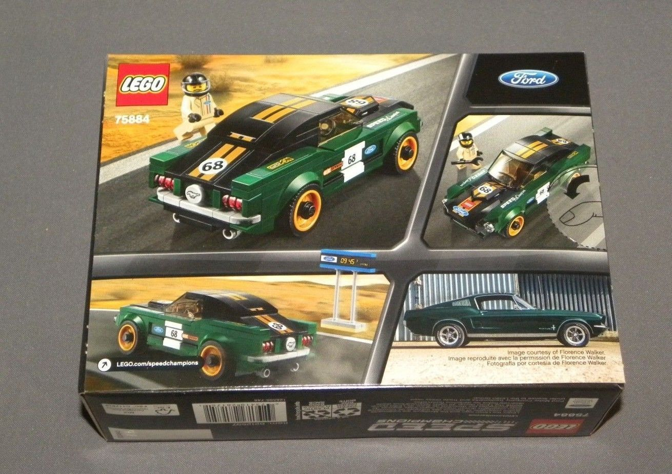 LEGO Speed Champions 1968 Ford Mustang Fastback 75884 Race C