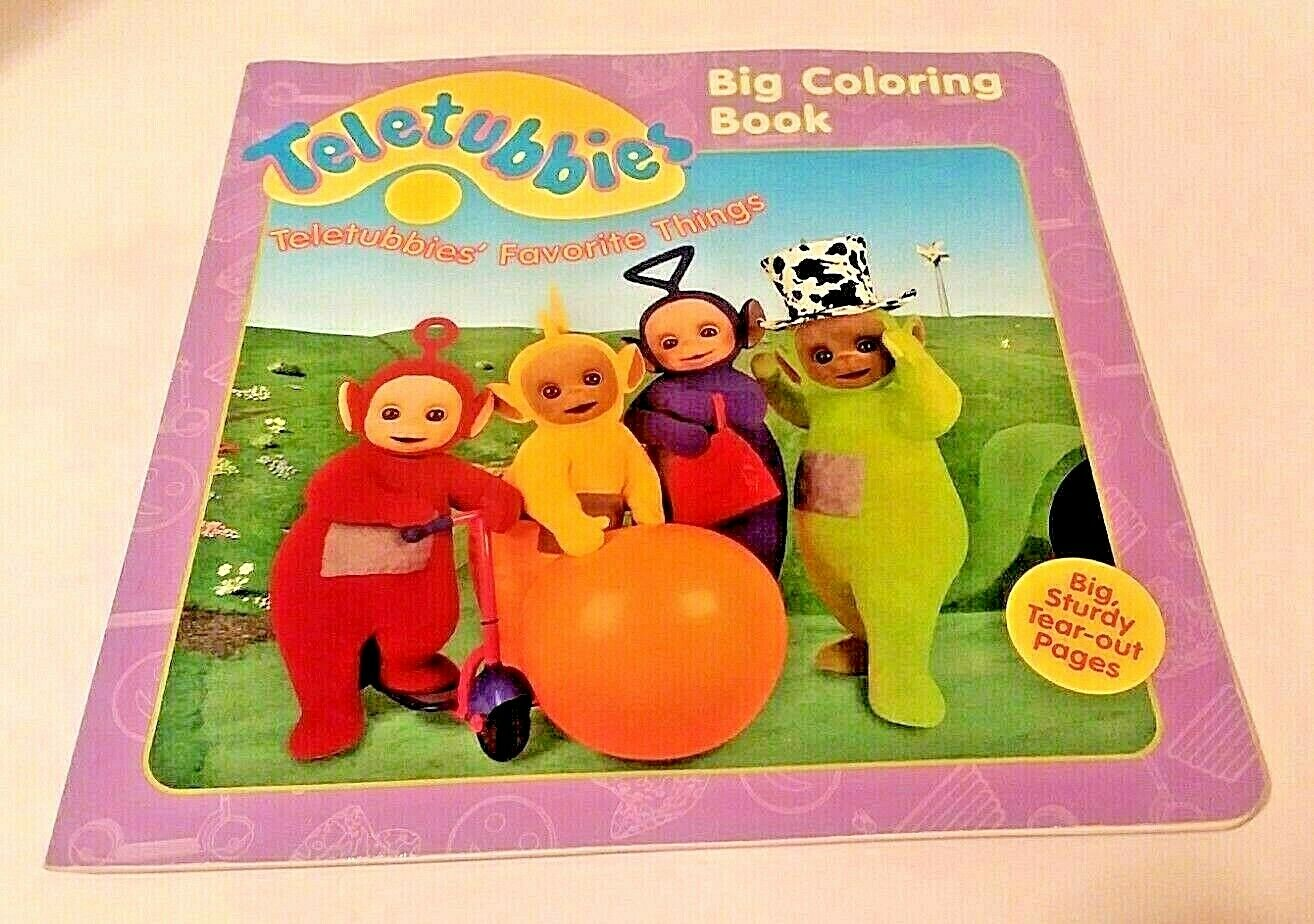 - TELETUBBIES Big Coloring Book