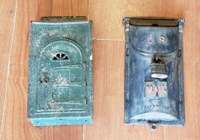 Antique Mailbox ~ Lot of 2~  Circa 1920's ~ Free Ship!