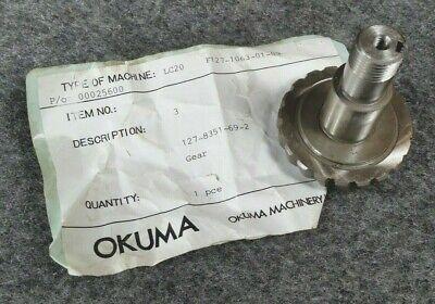 Nos Okuma Cnc Lathe Lc20 127-8351-69-2 Gear D129
