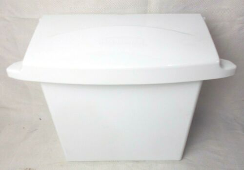 Sanitary Napkin Receptacle Rubbermaid 6140 White